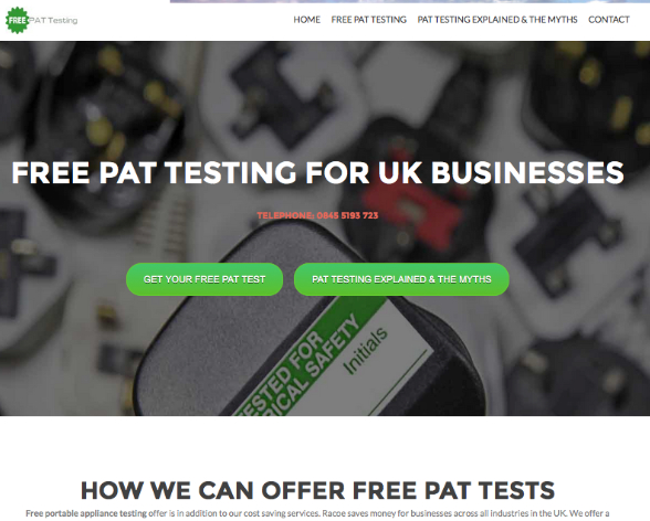 pat testing template free - the pat directory pat testing companies in hampshire
